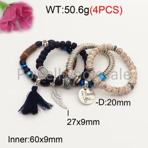 Fashion Bracelet  F3B402623bbov-K102