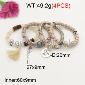 Fashion Bracelet  F3B402624bbov-K102