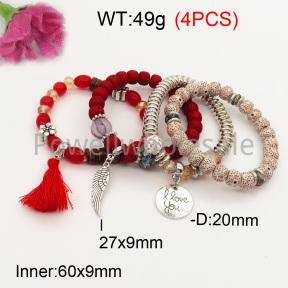 Fashion Bracelet  F3B402625bbov-K102