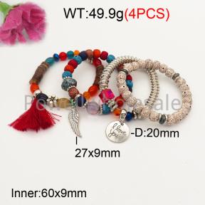 Fashion Bracelet  F3B402627bbov-K102