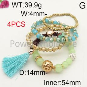 Fashion Bracelet  F6B403089bbov-K102