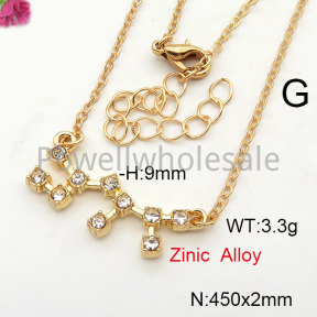 Fashion Necklace  F6N41923vail-J25