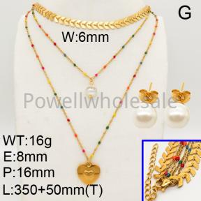 Shell Pearl Sets  F90900290ahlv