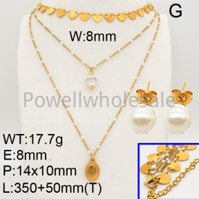 Shell Pearl Sets  F90900337ahlv