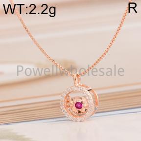 925 Silver Necklace  JN10003ainl-M113  M0020