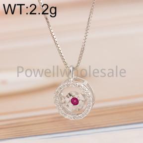 925 Silver Necklace  JN10004ainl-M113  M0020