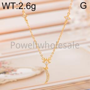 925 Silver Necklace  JN10005aiji-M113  XA155