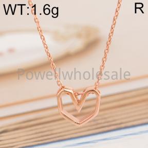 925 Silver Necklace  JN40060vhnh-M113  XA149