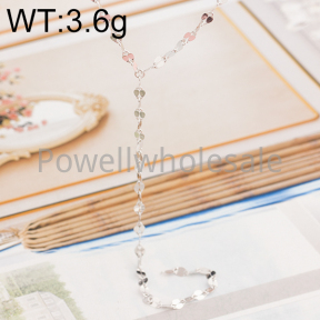 925 Silver Necklace  JN40063ailh-M113  HXL455
