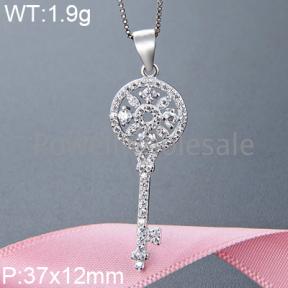 925 Silver Gravel Stone Pendant  JP10133aikm-M112  YJBD002357
