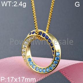 925 Silver Gravel Stone Pendant  JP10140aiml-M112  YJBD002375