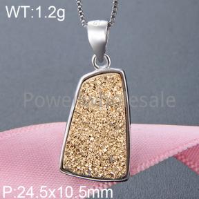 925 Silver Gemstone Pendant  JP20171ajji-M112  YJBD002506