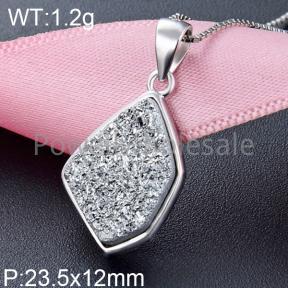 925 Silver Gemstone Pendant  JP20172aipj-M112  YJBD002507