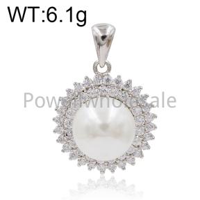 925 Silver Pendant  JP30026ajni-M112  HC0047