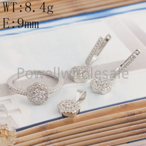 925 Silver Sets  JS10007bbnm-BLH