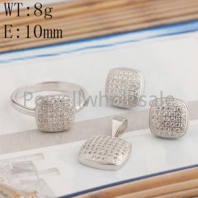925 Silver Sets  JS10008bbnm-BLH